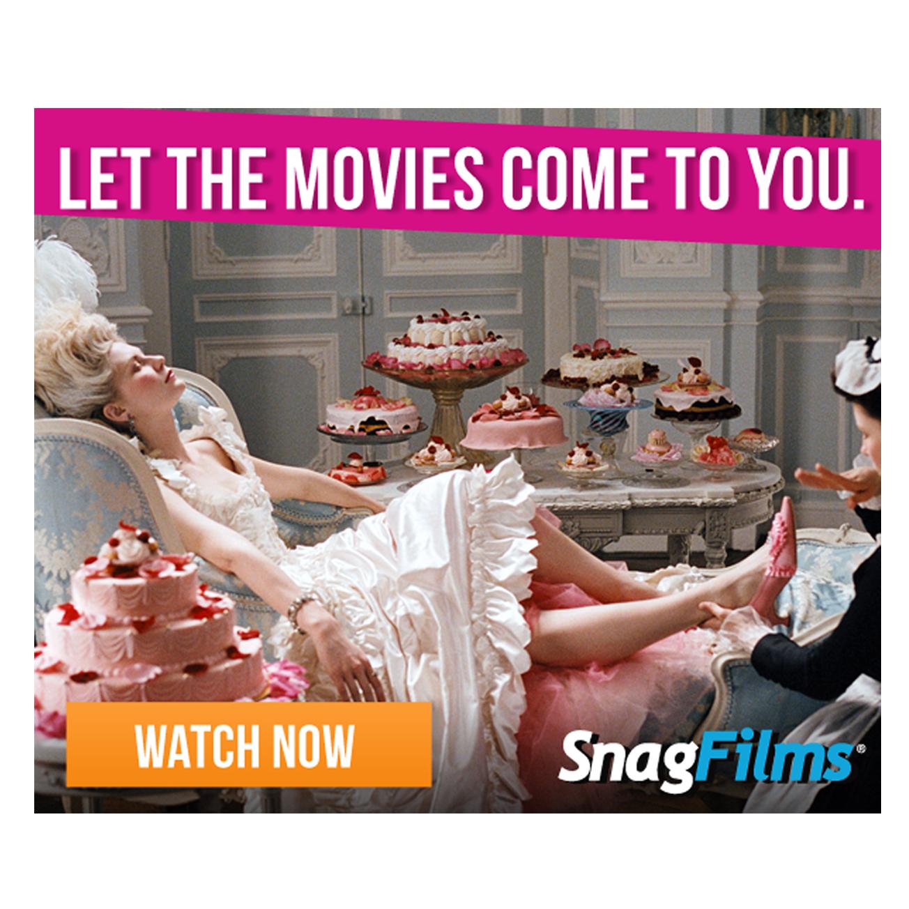 Digital Banner Design, SnagFilms