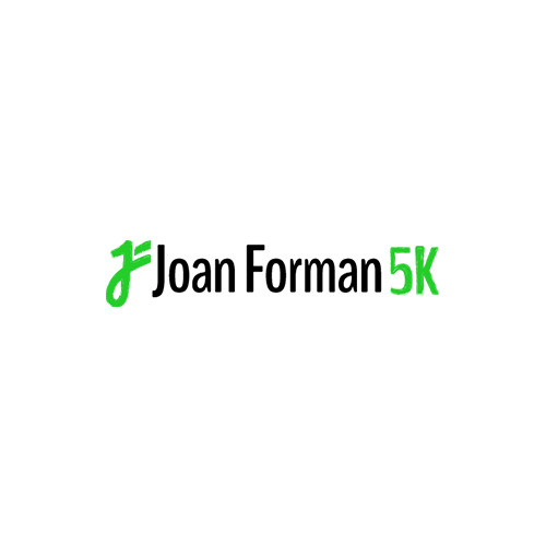 Website Build: Joan Forman 5K, website design & logo by Lauren Harvey