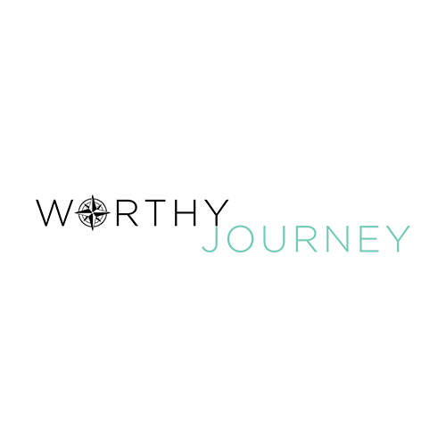 Website Build: Worthy Journey Travel, website design & logo by Lauren Harvey