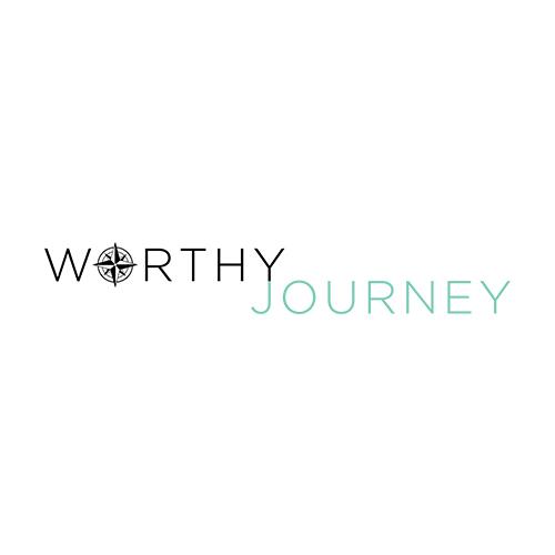 Website Build: Worthy Journey Travel, website design & logo by Lauren Harvey